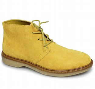 Lunar Womens Virginia Tan Yellow Desert Boots